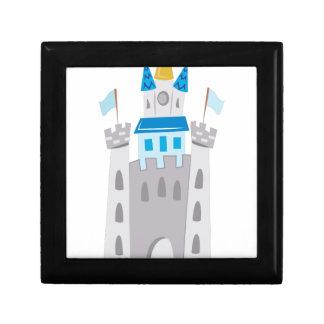 Castle Small Square Gift Box
