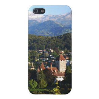 Castle Spiez lake of Thun iPhone 5 Case