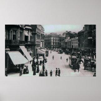 Castle Square, Belfast, c.1902 Poster