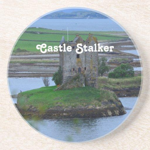 Castle Stalker Beverage Coasters