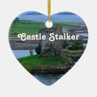 Castle Stalker Christmas Ornaments