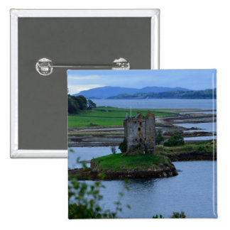 Castle Stalker in Scotland Buttons