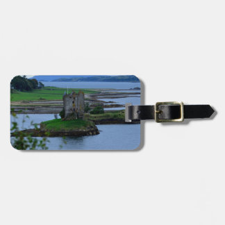 Castle Stalker in Scotland Bag Tag