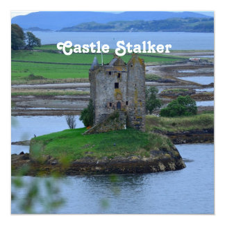 Castle Stalker Personalized Invites