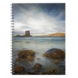Castle Stalker, Scotland Spiral Note Book