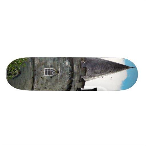 Castle Tower Custom Skate Board