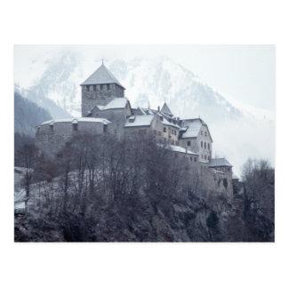 Castle Vaduz Liechtenstein Postcard