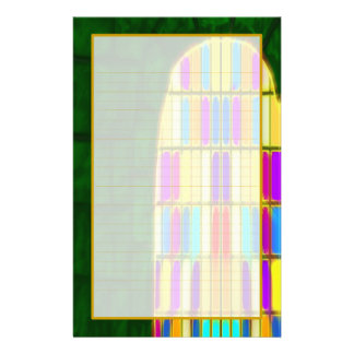 Castle Window I Fine Lined Stationery