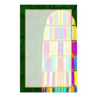 Castle Window I Fine Lined Stationery