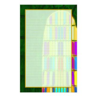 Castle Window II Fine Lined Stationery