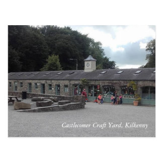 Castlecomer Craft Yard, Kilkenny Postcard