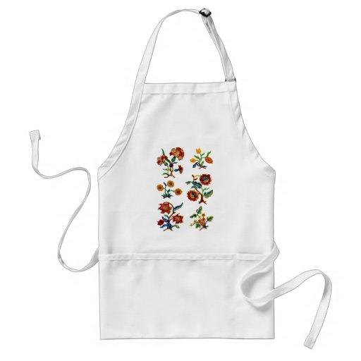 Castlemane Jacobean Embroidery Aprons