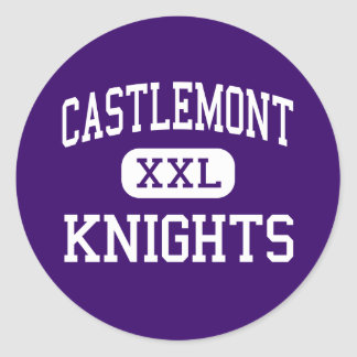 Castlemont - Knights - High - Oakland California Classic Round Sticker