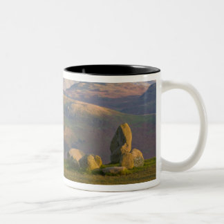 Castlerigg Stone Circle, Lake District, Cumbria, 2 Two-Tone Coffee Mug