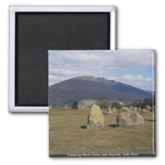 Castlerigg Stone Circle, near Keswick, Lake Distri Refrigerator Magnets