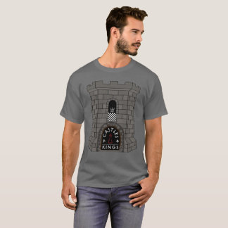 Castles and Kings Chess T-Shirt