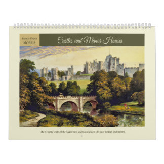 Castles and Manor Houses Calendar