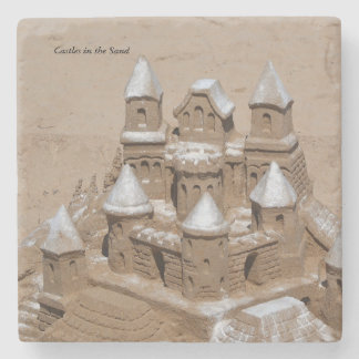 Castles in the Sand Stone Coaster