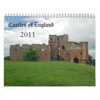 Castles of England - 2011 Wall Calendar