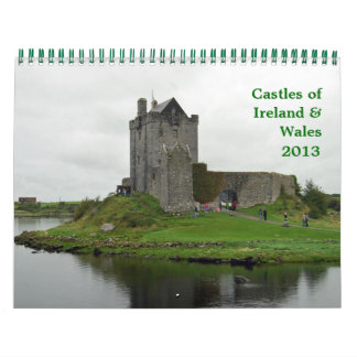 Castles of Ireland & Wales Wall Calendars