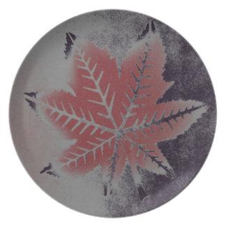 Castor Leaf Plate