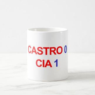Castro 0 CIA 1 Coffee Mug