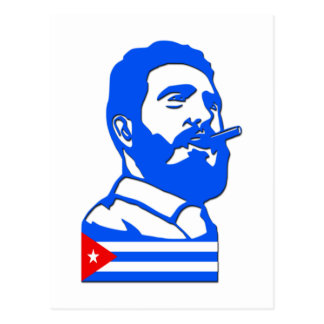Castro And Cuba Postcard