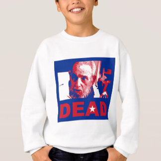 Castro dead (Cuban-flag colors) Sweatshirt