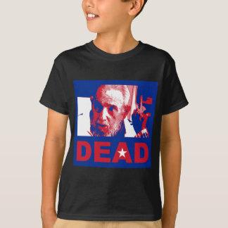 Castro dead (Cuban-flag colors) T-Shirt