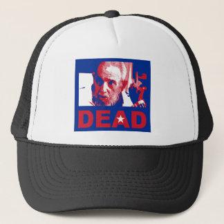 Castro dead (Cuban-flag colors) Trucker Hat