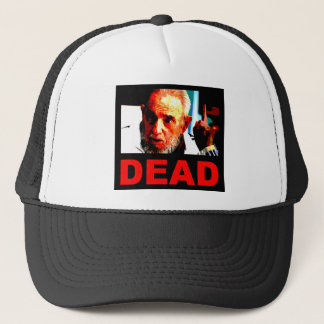 Castro dead (real colors) trucker hat