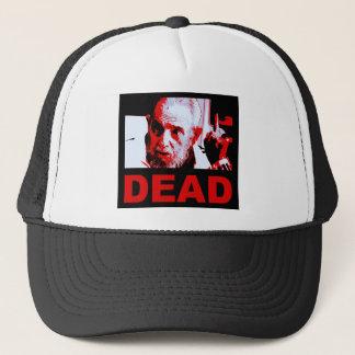 Castro dead (red) trucker hat