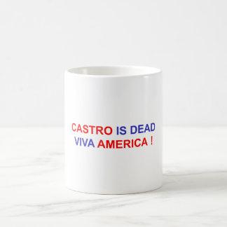 Castro is Dead. Viva America! Coffee Mug