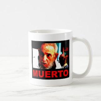 Castro muerto (colores auténticos) coffee mug