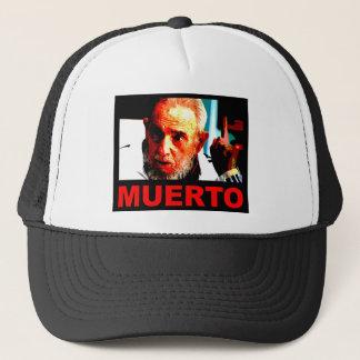 Castro muerto (colores auténticos) trucker hat
