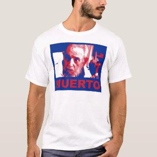 Castro muerto (colores de bandera cubana) T-Shirt