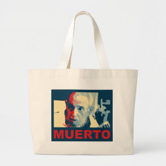 Castro muerto (colores Hope) Large Tote Bag