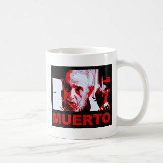 Castro muerto (rojo) coffee mug