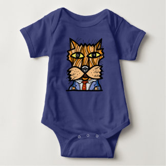 """""""Casual"""" Baby Jersey Bodysuit"""