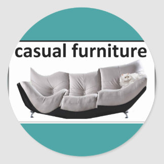 Casual furniture very casual stickers