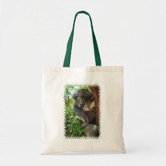 Casual Koala  Small Tote Bag