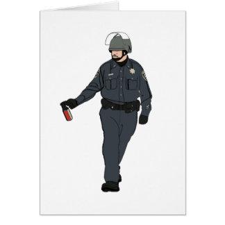 Casual Pepper Spray Cop in Color Card