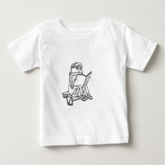 Casual reader baby T-Shirt