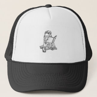 Casual reader trucker hat