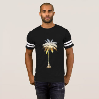 Casual Trendy Hot Summer Palm Tree Beach Sunset T-Shirt