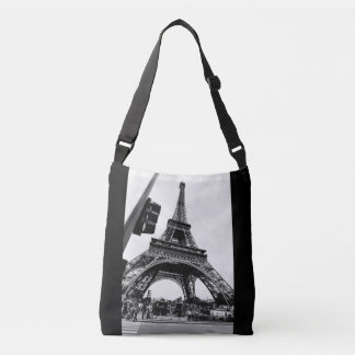 Casual view of Eiffel tower - simple and stylish Crossbody Bag