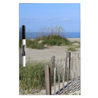 Caswell Beach, NC Land and Seascape Dry Erase Board