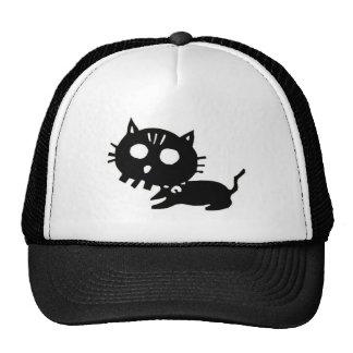 Cat 髑 髏 CAT SKULL cutting picture Cap