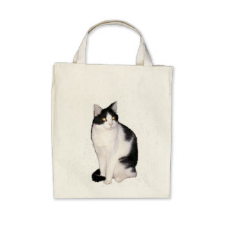 Cat 12 Organic Grocery Tote Tote Bags