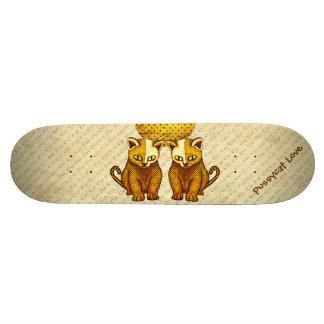 Cat 1 custom skate board